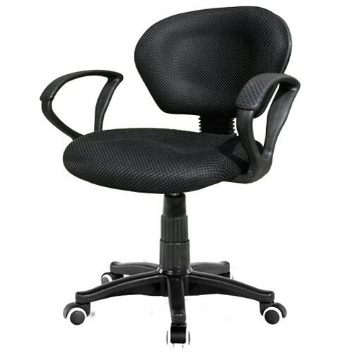 High quality wide seat mesh fabric task chair with low back