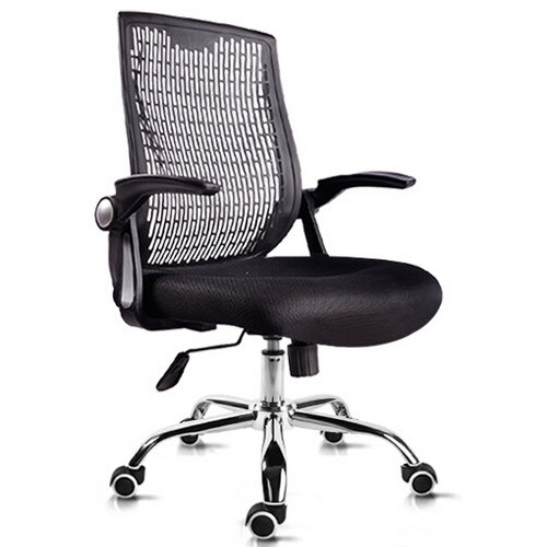 Elegant computer chair midium back office chair with upholst