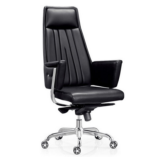 hot sell luxury leather president office mesh chair