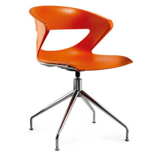 Hot plastic rotation office chair conference chair training