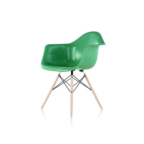 Elegant light comfortable Eames Molded Fiberglass Chairs