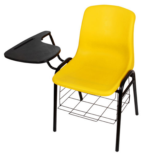 Student chair with writing board durable training chair