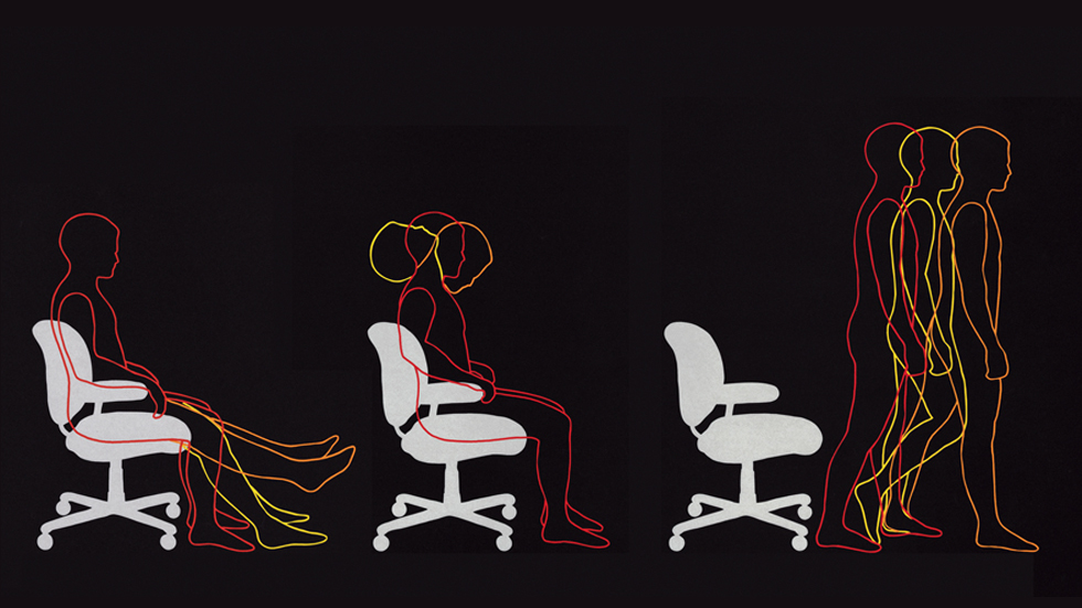 Sitting too long Increases Heart Risks