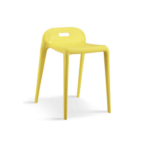 YUYU chair spare minimalist dining chair solid plastic stool