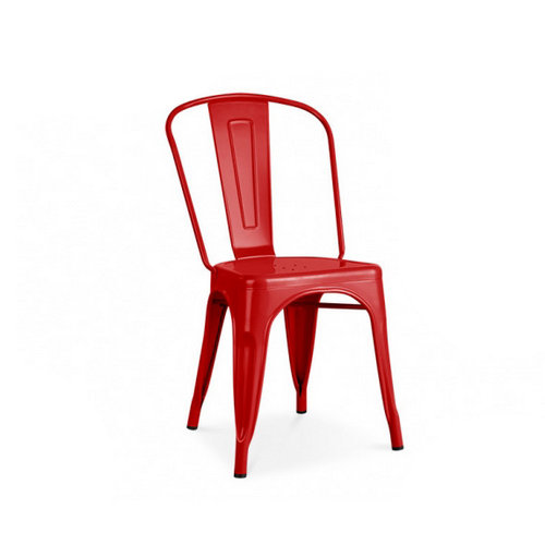Tolix Side Chair industrial iron chair lounge chair