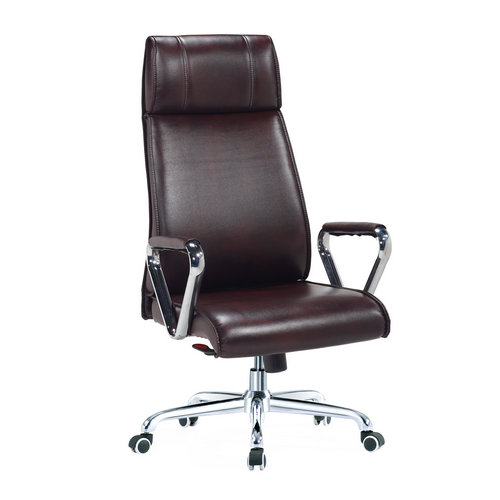 Ergonomic leather office chair boss chair seating