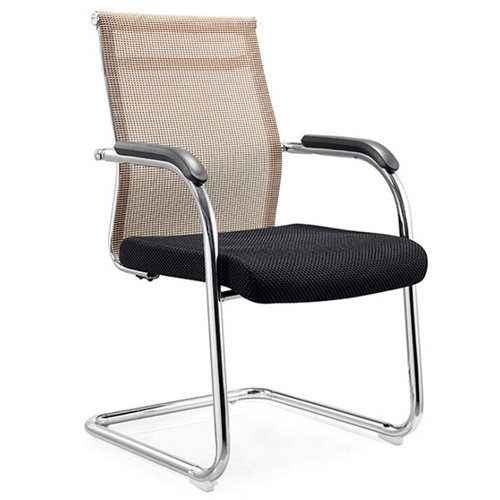 Simple bow-shaped mesh office chair conference chair seating
