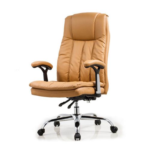 Ergonomic reclining leather chair boss chair seating