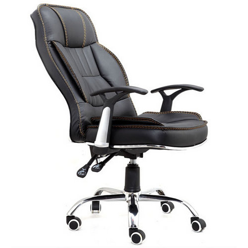 Multifunction staff reclining leather office chairs seating