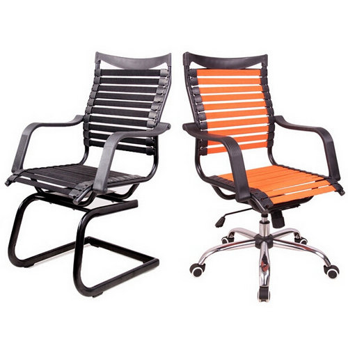 Fashion rubber elastics employee health office chair seating