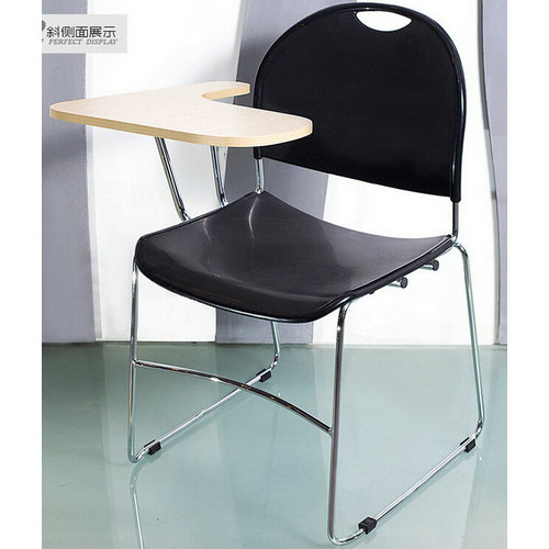 Multifunction conference chair training chair with tablet