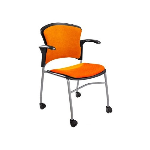 Protable Conference Room Chair with Casters made in China