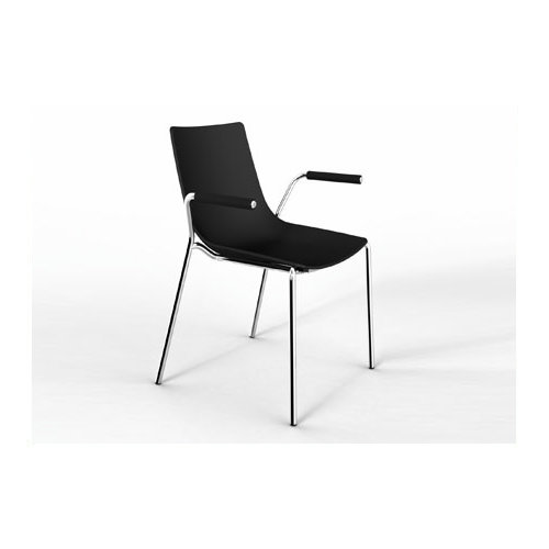 Steel plastic leisure chair office chair China furniture