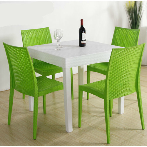 Wholesale strong plastic rattan chair for commercial or home