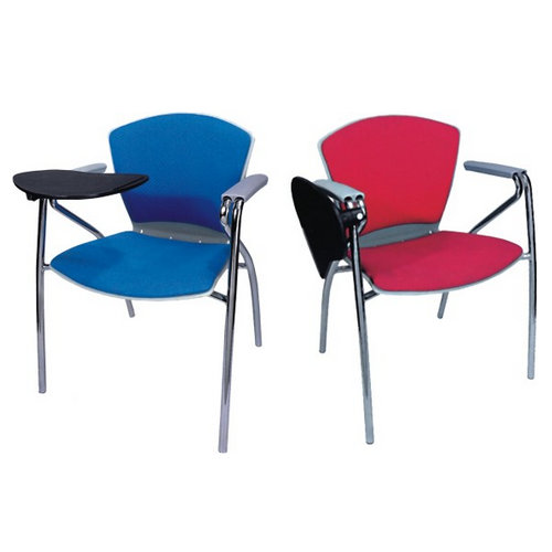 Student Training Chair PP with Writing Tablet and Cushion