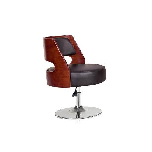 Living room leisure chair Pu sofa chair swivel Pu bar chair