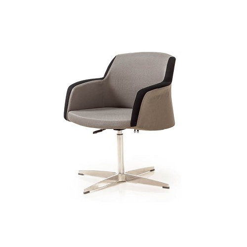 pu cover lounge office chair living room swivel chair