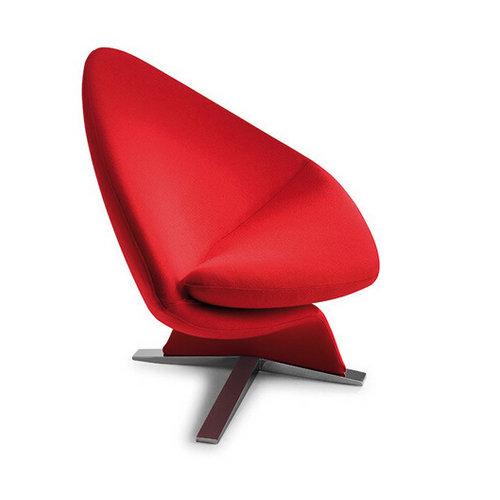 Customized Sofa Chair Fiberglass Frame Designer Furniture