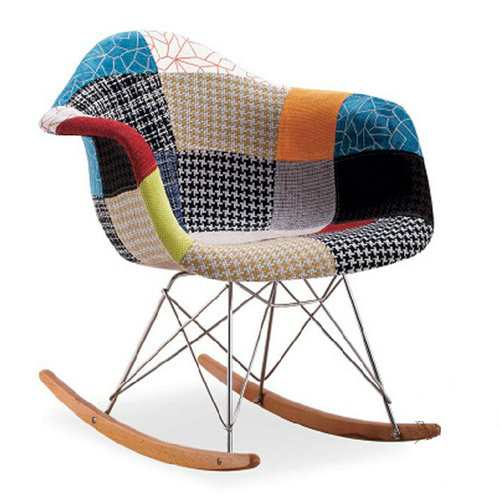 classic replica charles eames rocking chair china supplier