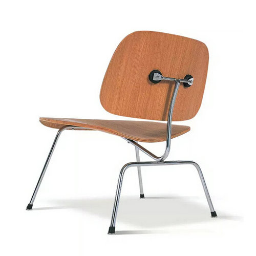 Eames LCM Chair lounge chair Stainless steel wood stool