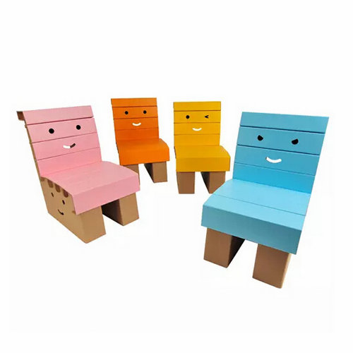 Miley Chair kids chair paper furniture educational toy DIY