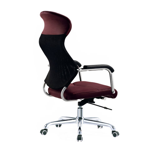 Canton Fair leather executive swivel High back office chair