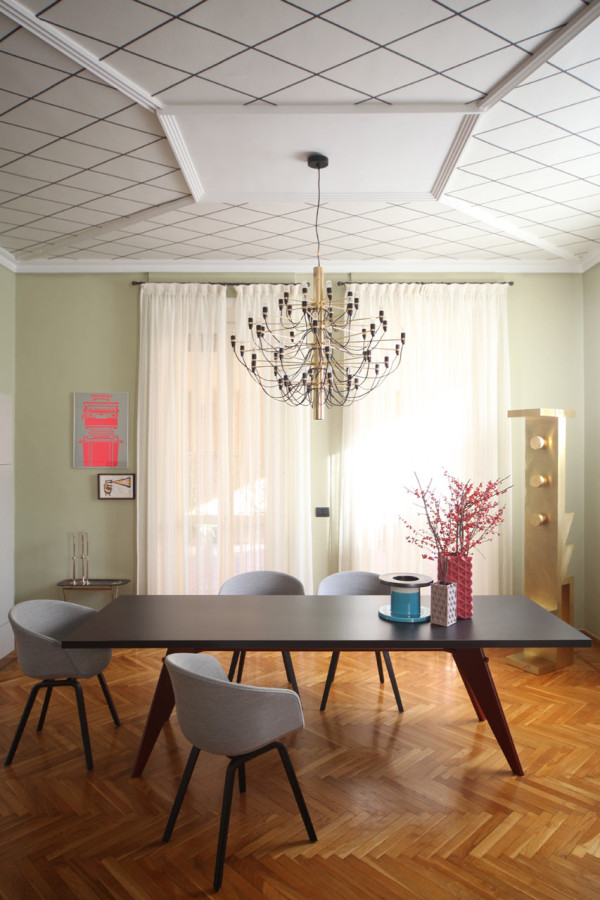 METAPHYSICAL REMIX: RESTORATION OF A TURIN APARTMENT
