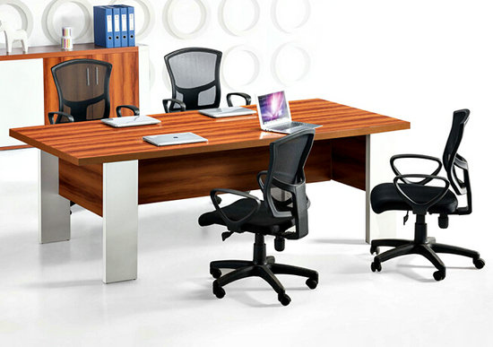 conference table modern design, wood meeting table desk