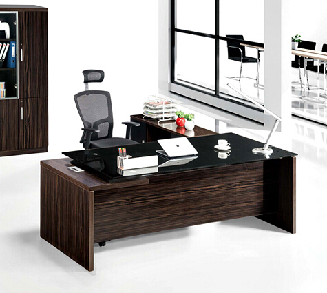 executive office table desk with enclosed desk furniture