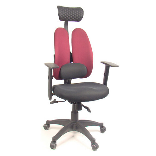 korea dsp office chair ergonomic double back computer chair