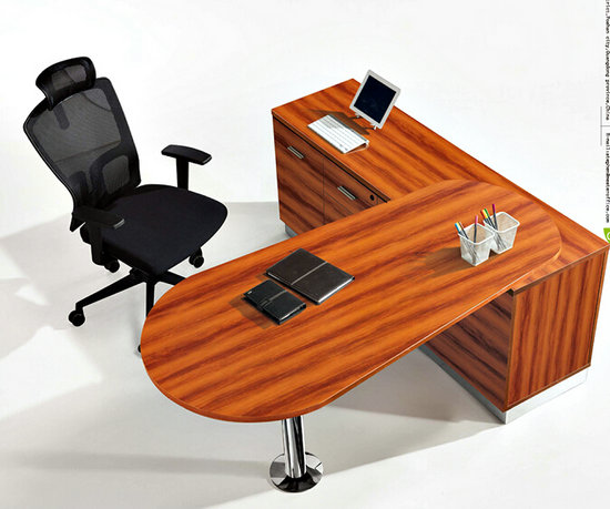 wooden computer executive office table / desk / furniture