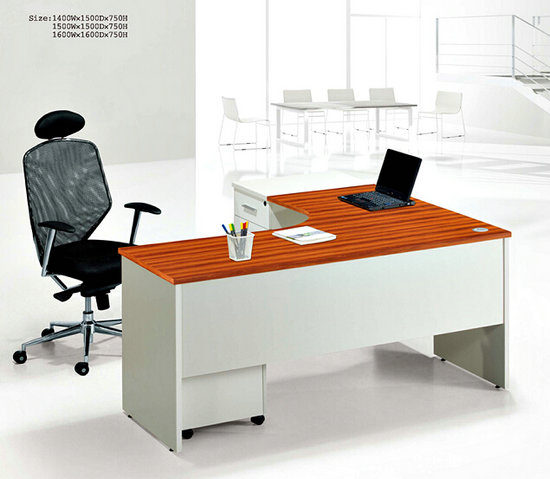 office furniture office table L shaped office desk wooden