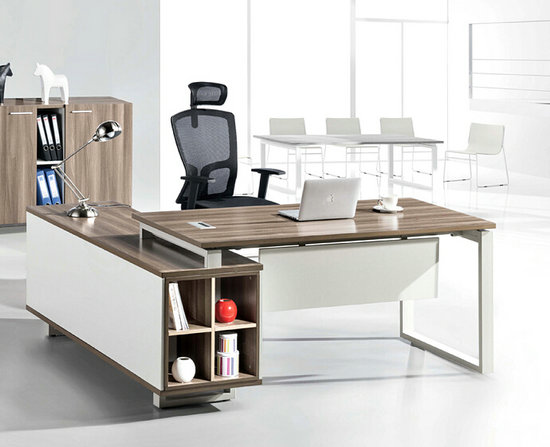 Panel executive office desk, modern owner desk office table