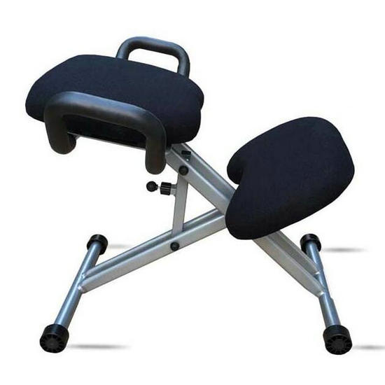 modern china metal ergonomic kneeling chair with armrest