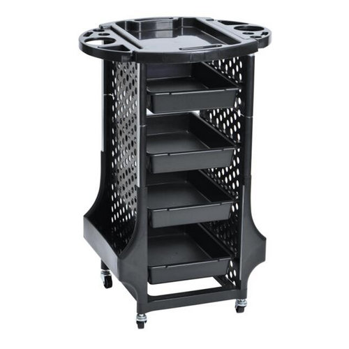 Professional hair salon trolley with drawer for beauty salon