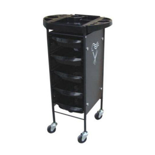 hair salon trolleys / hair salon trolley cart with 6 drawer