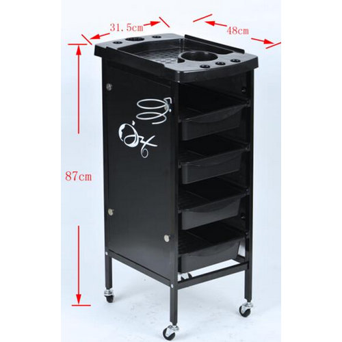 multifunctional plastic spa trolley beauty salon trolley car