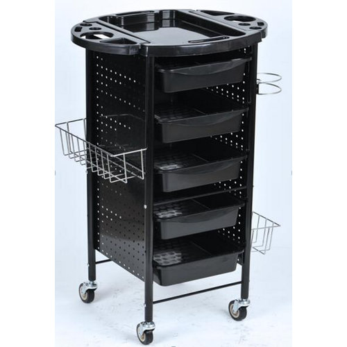 Salon Rolling Trolley Storage Removable Drawer Tray Cart