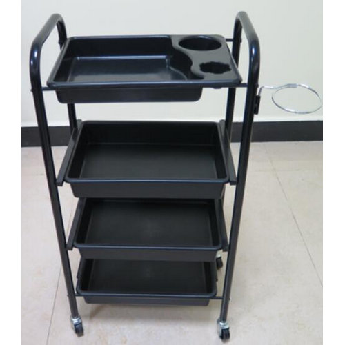 Cheap Professional Plastic Hair Salon Trolley Tool Cart