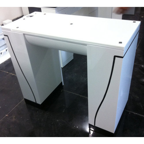 beauty nail table used for salon furniture / manicure desk