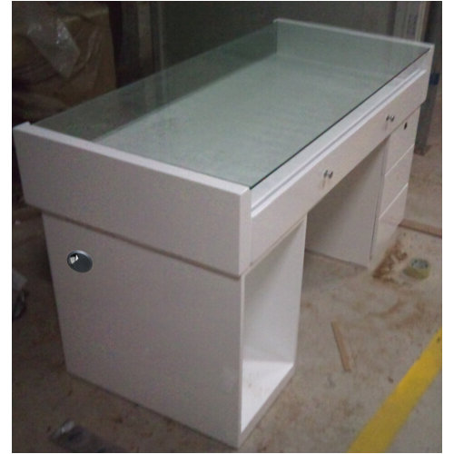 spa cosmetic display cabinet / hair salon showcase for mall