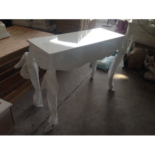 white nail technician tables / manicure desk for sale