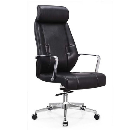 Modern Tall Executive Black Office Chair Director Swivel Sea