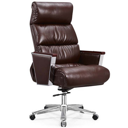 presidential high-back PU office chair manager rotary seatin