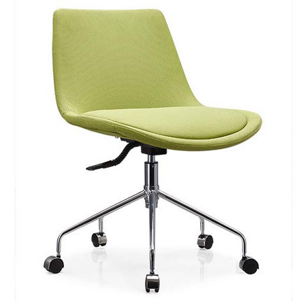 conference room swivel visitor chair armless staff seating