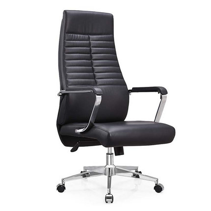 Factory Wholesale High Black Leather Executive Office Chair