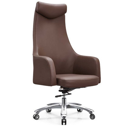 China big swivel boss genuine leather office chair seating