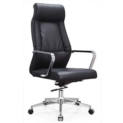Guangzhou elegant PU leather high back executive office chai