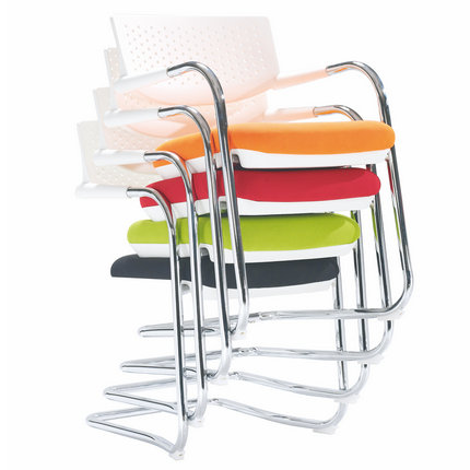 Alibaba stackable conferece seating steel reception chair