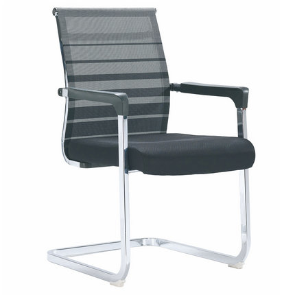 China factory conference meeting seating metal visitor chair